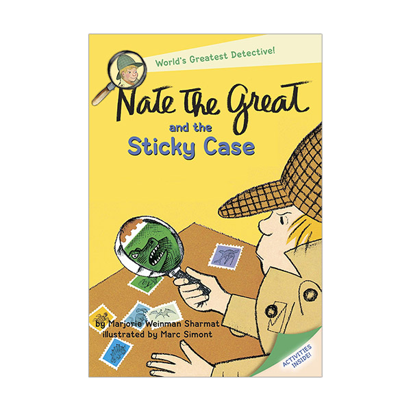 RL 2.7 : Nate the Great and the Sticky Case (Paperback)