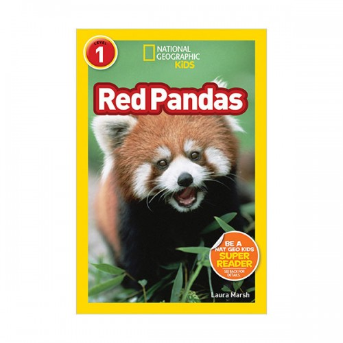 RL 2.7 : National Geographic kids Readers Level 1 : Red Pandas (Paperback)