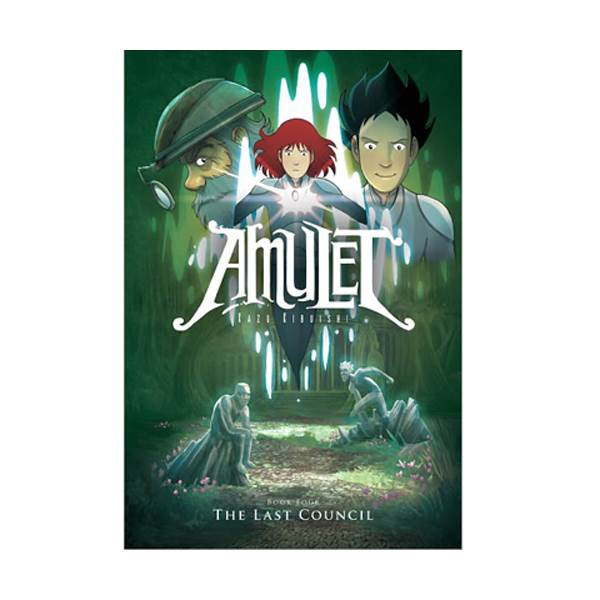 RL 2.8 : Amulet Series #4 : The Last Council : Graphic Novels (Paperback)