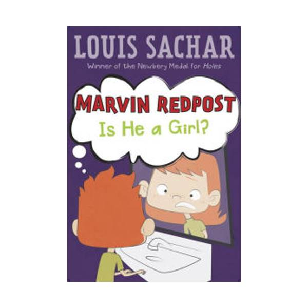 RL 2.8 : Louis Sachar : Marvin Redpost Series #3: Is He a Girl? (Paperback)