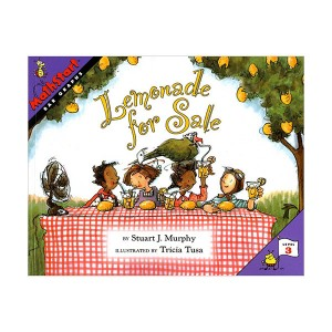 RL 2.8 : Mathstart Level 3 : ALemonade For Sale (Paperback)