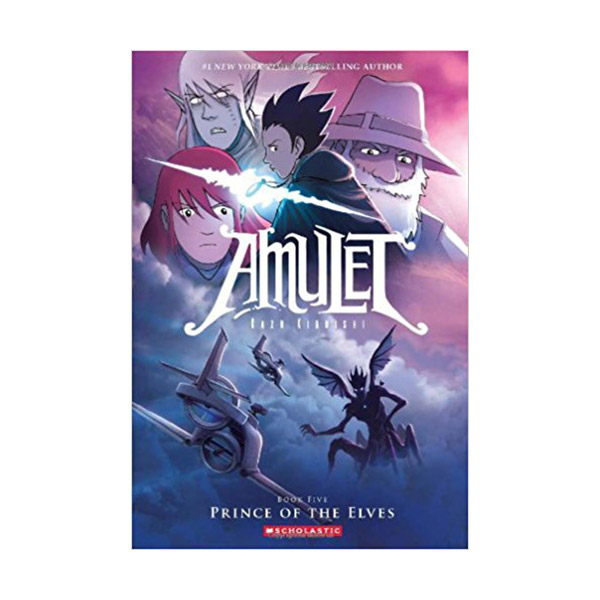 RL 2.9 : Amulet Series #5 : Prince of the Elves : Graphic Novels (Paperback)