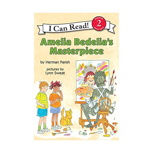 I Can Read Level 2 : Amelia Bedelia's Masterpiece (Paperback)