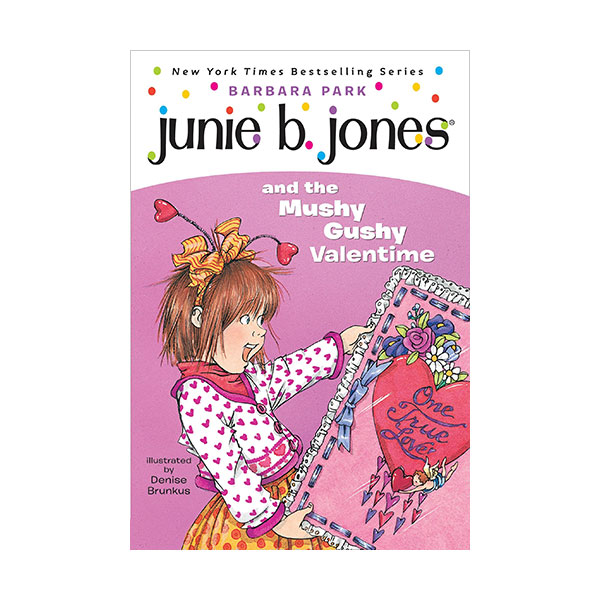 RL 2.9 : Junie B. Jones Series #14 : Junie B. Jones and the Mushy Gushy Valentine (Paperback)