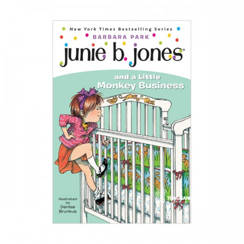 RL 2.9 : Junie B. Jones Series #2 : Junie B. Jones and a Little Monkey Business (Paperback)