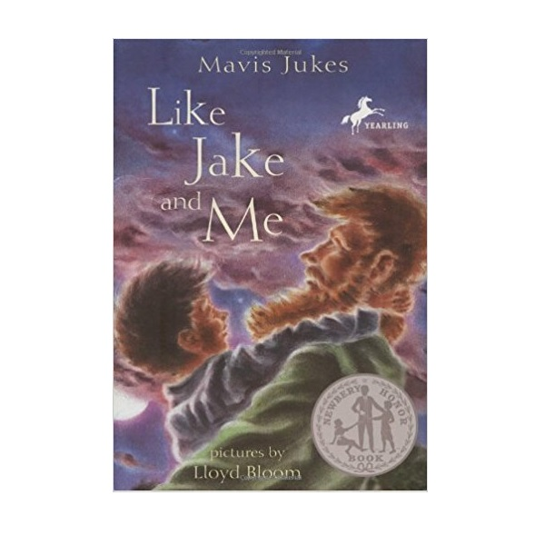 [1985 뉴베리] Like Jake and Me (Paperback, Newbery)