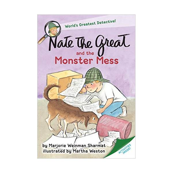 RL 2.9 : Nate the Great and the Monster Mess (Paperback)