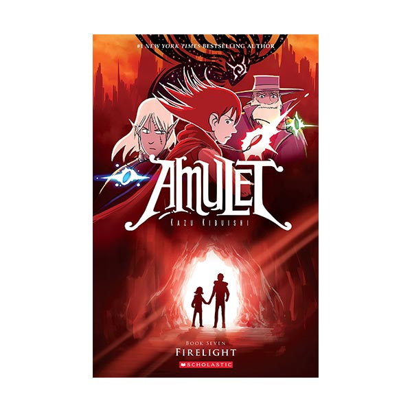 RL 3.0 : Amulet Series #07 : Firelight : Graphic Novels (Paperback)