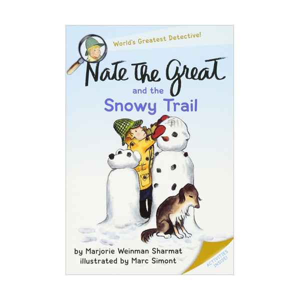 RL 3.0 : Nate the Great and the Snowy Trail (Paperback)