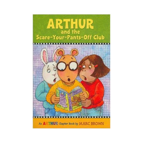RL 3.1 : Arthur Chapter Book #02: Arthur and the Scare-Your-Pants-Off Club (Paperback)