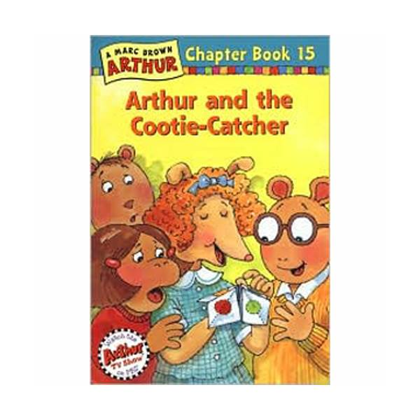 RL 3.1 : Arthur Chapter Book #15: Arthur and the Cootie-Catcher (Paperback)