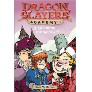 RL 3.1 : Dragon Slayers' Academy Series #4: A Wedding for Wiglaf? (Paperback)