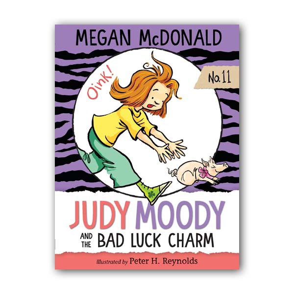 주디 무디 #11 : Judy Moody and the Bad Luck Charm (Paperback, 미국판)