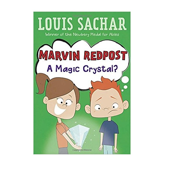 RL 3.1 : Louis Sachar : Marvin Redpost Series #8: A Magic Crystal? (Paperback)