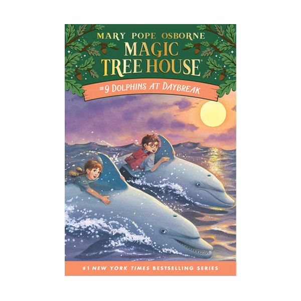 Magic Tree House #09 : Dolphins At Daybreak (Paperback)