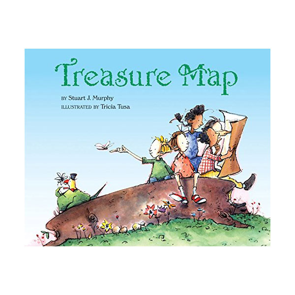 Mathstart 3 : Treasure Map (Paperback)