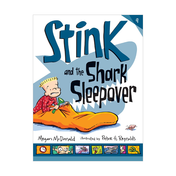 RL 3.1 : Stink Series #9 : Stink and the Shark Sleepover (Paperback)
