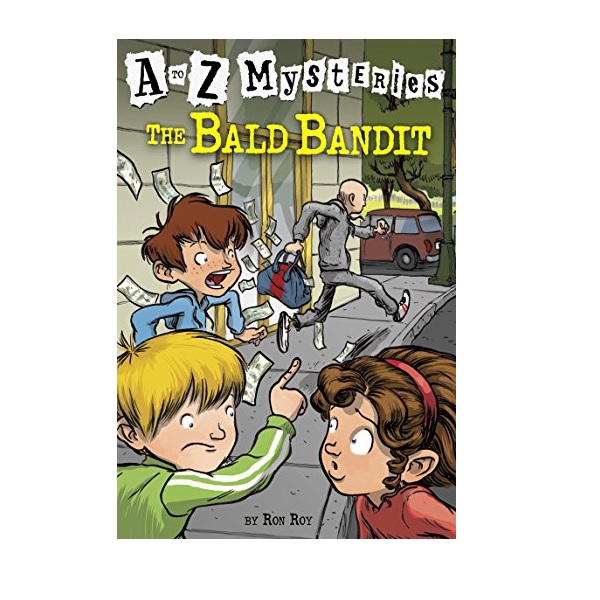 RL 3.2 : A to Z Mysteries Series #2 : Bald Bandit (Paperback)