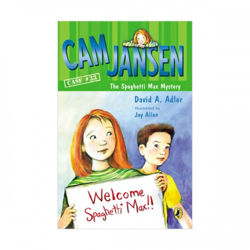 RL 3.2 : Cam Jansen #33 : Cam Jansen and the Spaghetti Max Mystery (Paperback)