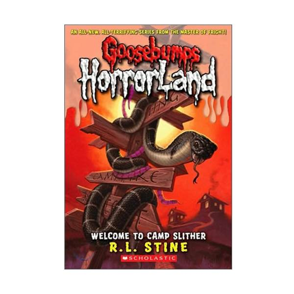 RL 3.2 : Goosebumps Horrorland Series #9 : Welcome to camp Silther (Paperback)