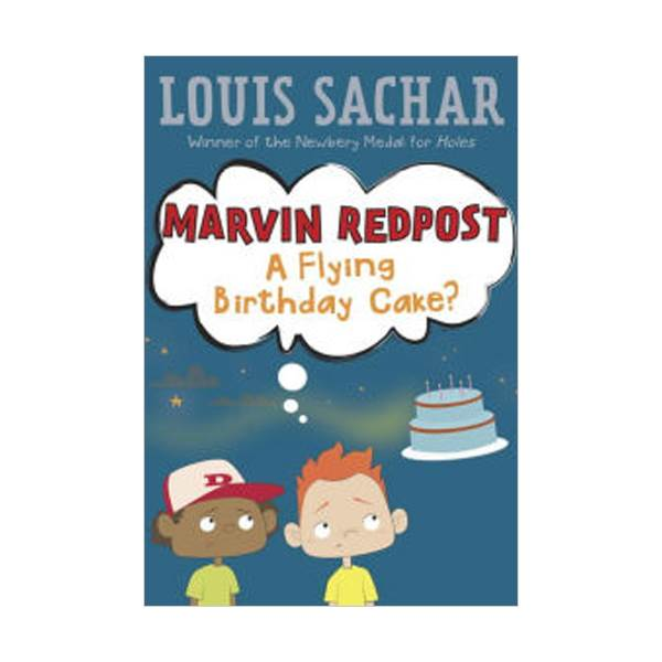 Louis Sachar : Marvin Redpost Series #6: A Flying Birthday Cake? (Paperback)