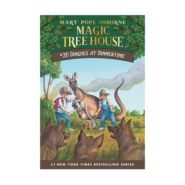 Magic Tree House #20 : Dingoes at Dinnertime (Paperback)
