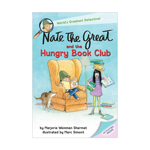 RL 3.2 : Nate the Great and the Hungry Book Club (Paperback)