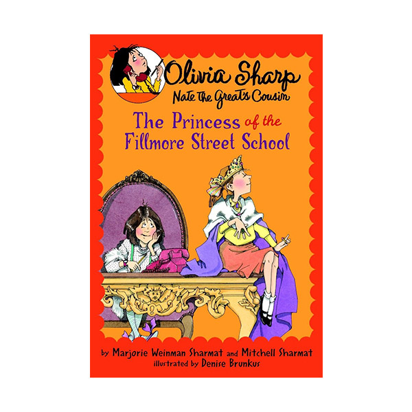 RL 3.2 : Olivia Sharp: Agent for Secrets: The Princess of the Fillmore Street School (Paperback)