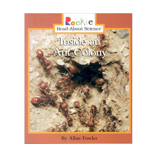 RL 3.2 : Rookie Read About Science : Inside an Ant Colony (Paperback)