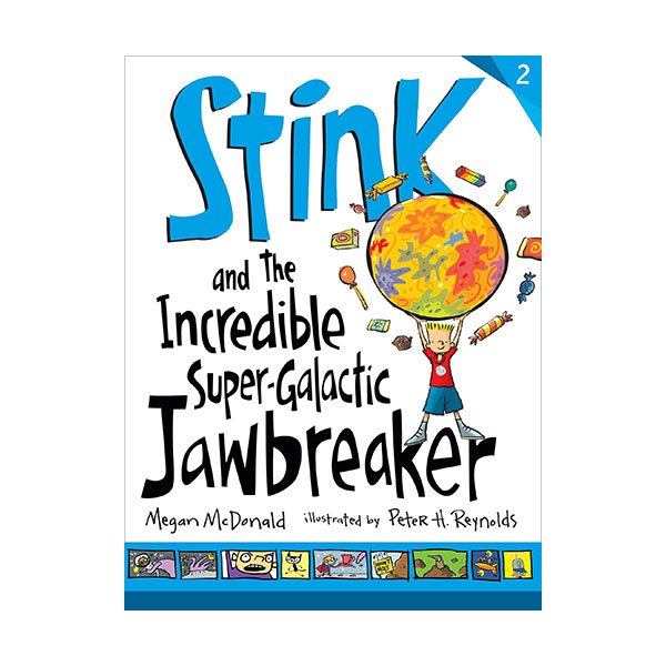 RL 3.2 : Stink Series #2 : Stink and the Incredible Super-Galactic Jawbreaker (Paperback)