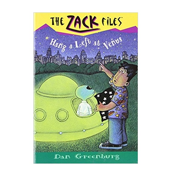 The Zack Files #15 : Hang a Left at Venus (Paperback)