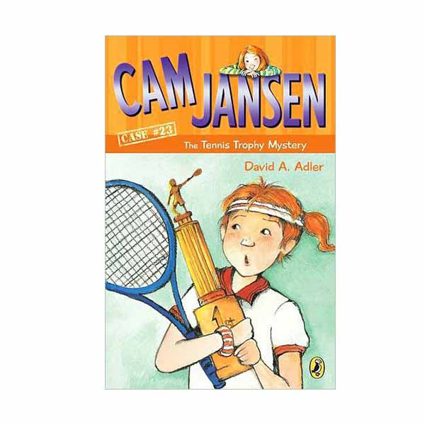 RL 3.3 : Cam Jansen #23 : The Tennis Trophy Mystery (Paperback)