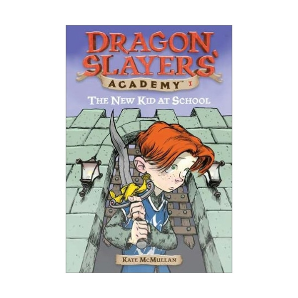 RL 3.3 : Dragon Slayers' Academy Series #1: The New Kid at School (Paperback)