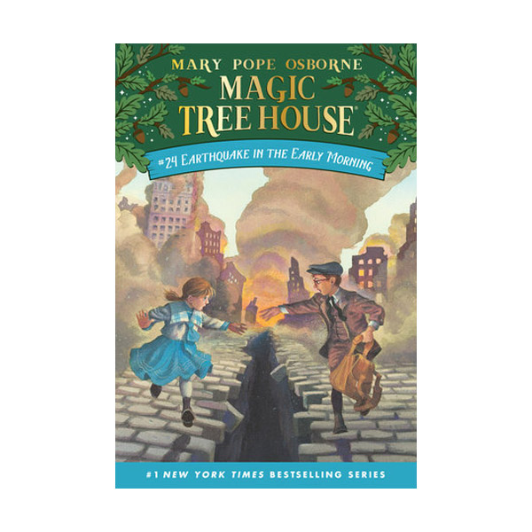Magic Tree House #24 : Earthquake in the Early Morning (Paperback)