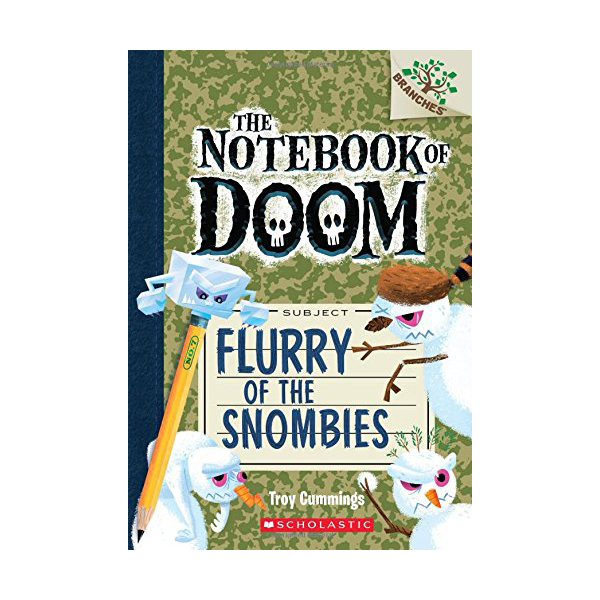 The Notebook of Doom #07 : Flurry of the Snombies (Paperback)