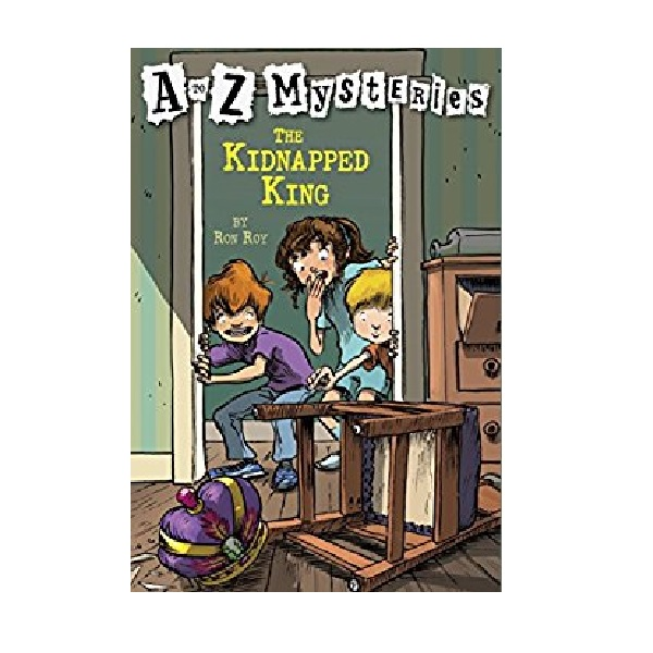 RL 3.4 : A to Z Mysteries Series #11 : The Kidnapped King (Paperback)