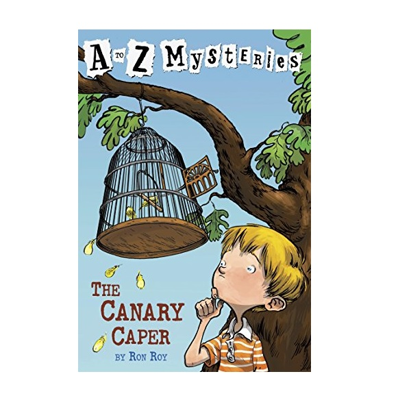 RL 3.4 : A to Z Mysteries Series #3 : Canary Caper (Paperback)