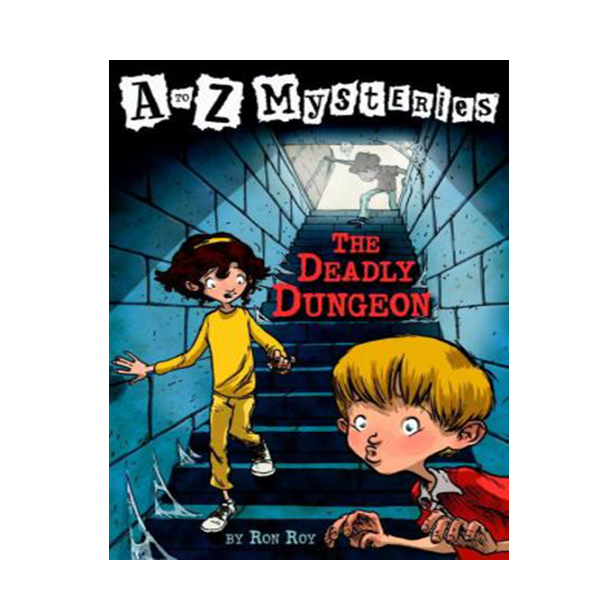 A to Z Mysteries #04 : Deadly Dungeon (Paperback)