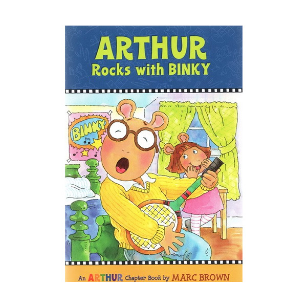 RL 3.4 : Arthur Chapter Book #11: Arthur Rocks with Binky (Paperback)