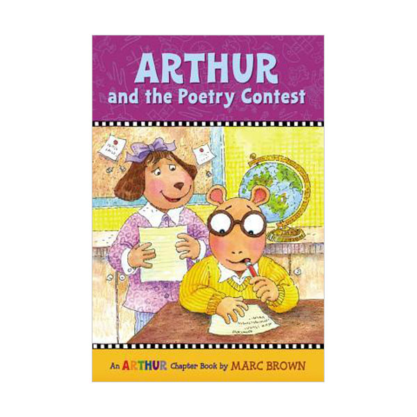 RL 3.4 : Arthur Chapter Book #18: Arthur and the Poetry Contest (Paperback)