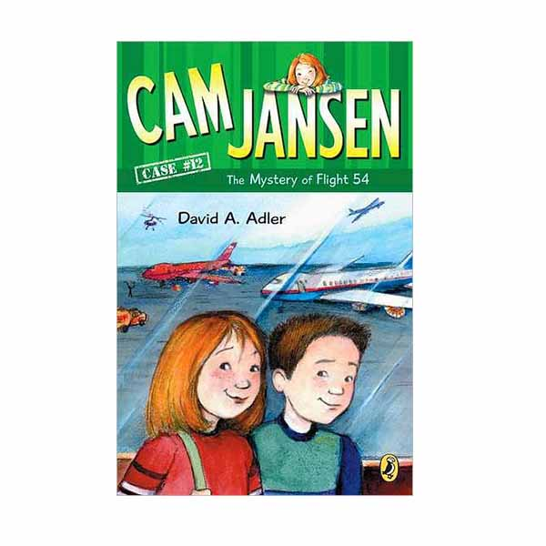 Cam Jansen #12 : The Mystery of Flight 54 (Paperback)