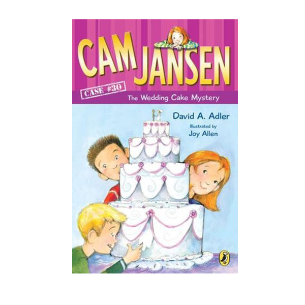 Cam Jansen #30: Cam Jansen and the Wedding Cake Mystery (Paperback)