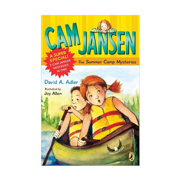 RL 3.4 : Cam Jansen and the Summer Camp Mysteries : A Super Special (Paperback)