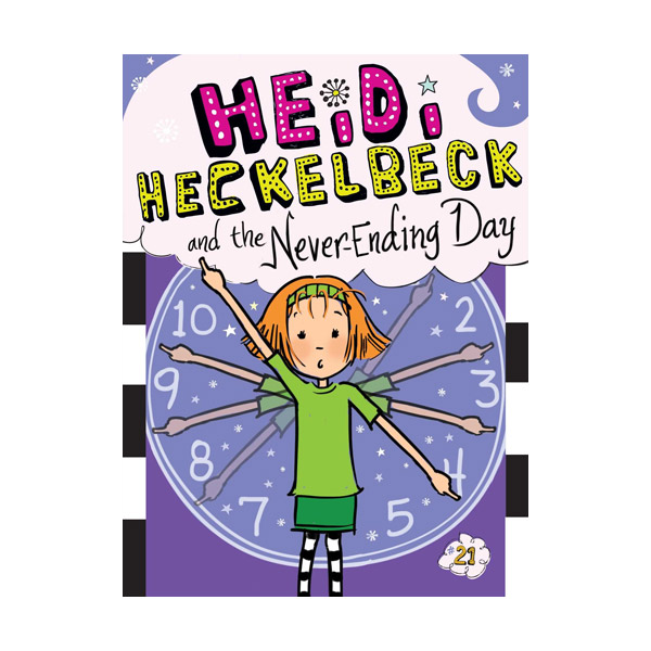 RL 3.4 : Heidi Heckelbeck Series #21 : Heidi Heckelbeck and the Never-Ending Day (Paperback)