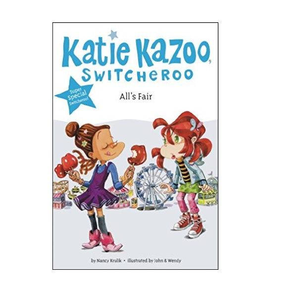 RL 3.4 : Katie Kazoo Switcheroo Super Special : All's Fair (Paperback)