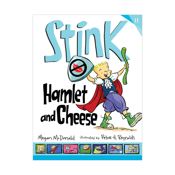 RL 3.4 : Stink Series #11 : Stink : Hamlet and Cheese (Paperback)