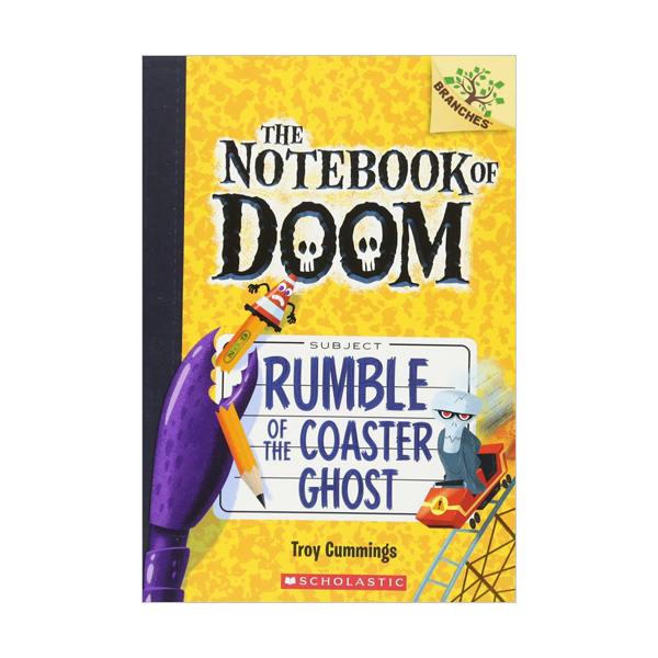 The Notebook of Doom #09 : Rumble of the Coaster Ghost (Paperback)