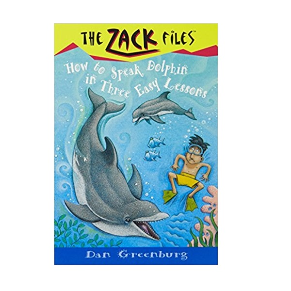 RL 3.4 : Zack Files Series #11 : How to Speak Dolphin in Three Easy Lessons (Paperback)