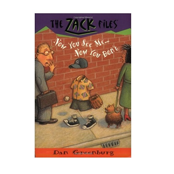 RL 3.4 : Zack Files Series #12 : Now You See Me . . . Now You Don't (Paperback)