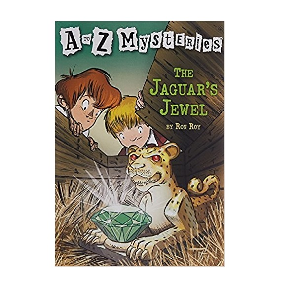 RL 3.5 : A to Z Mysteries Series #10 : The Jaguar's Jewel (Paperback)